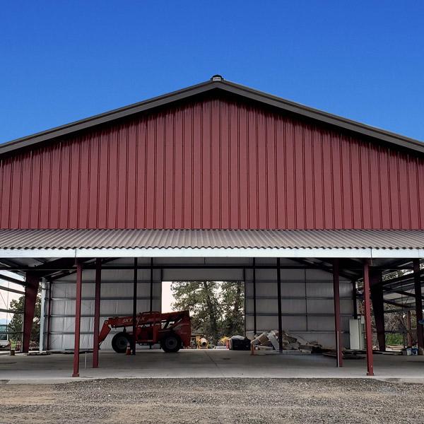 Machinery and Heavy Equipment Garages