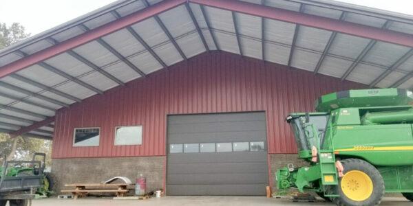 Machinery Steel Storage Building