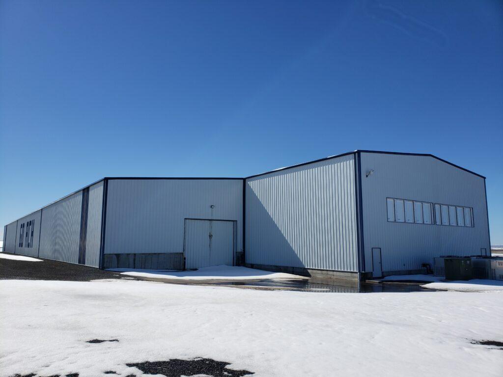 Potato Storage Buildings
