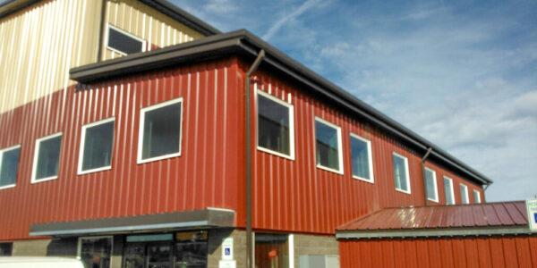 Bend Rock Gym Metal Building in Bend, Oregon
