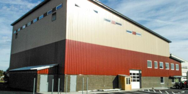 Bend Rock Gym_Bend, OR_ Gym Metal Building
