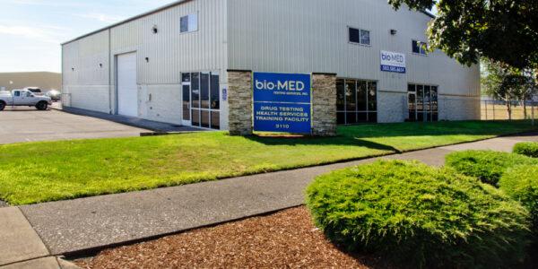 Bio-Med Commercial Steel Building in Salem, Oregon