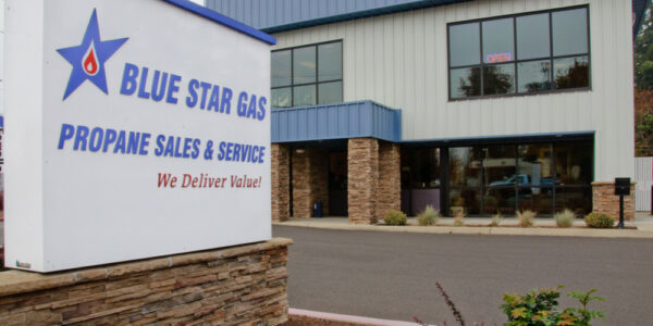 Blue Star Gas _ Commercial Building_ Pre-Fab PBS Building