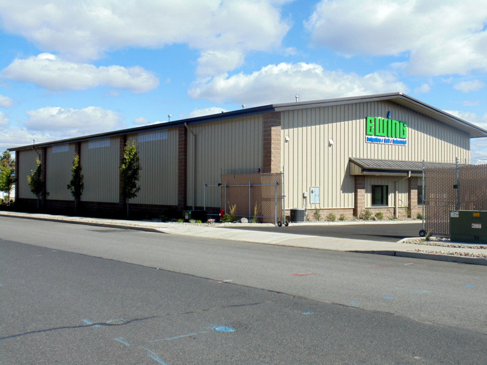Ewing Irrigation - Salem, OR — Pacific Building Systems