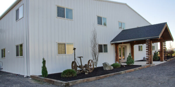 Marion Ag Services _ Commercial Pre-Fab Metal Building_ PBS Building