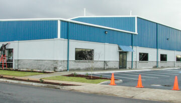 NAPA Auto Parts _ Ridgefield WA _ Commercial Pre-Fab Building _ PBS