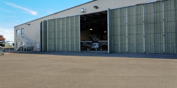 Salem Air Center_Salem OR_ Hangar Pre-Fab Steel Building