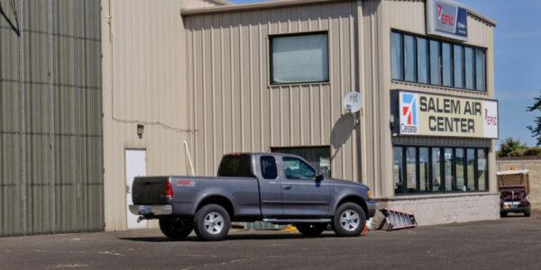 Salem Air Center_Salem OR_ Metal Hangars
