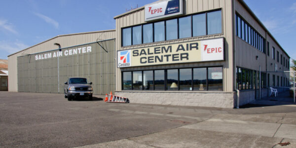 Salem Air Center_Salem OR_ PBS Metal Hangar