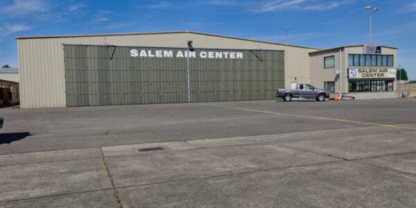 Salem Air Center_Salem OR_ Steel Hangar
