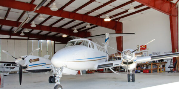 Salem Air Center_Salem OR_Metal Hangars