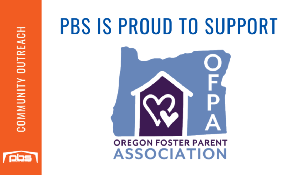 PBS is Proud to Support the Oregon Foster Parent Association