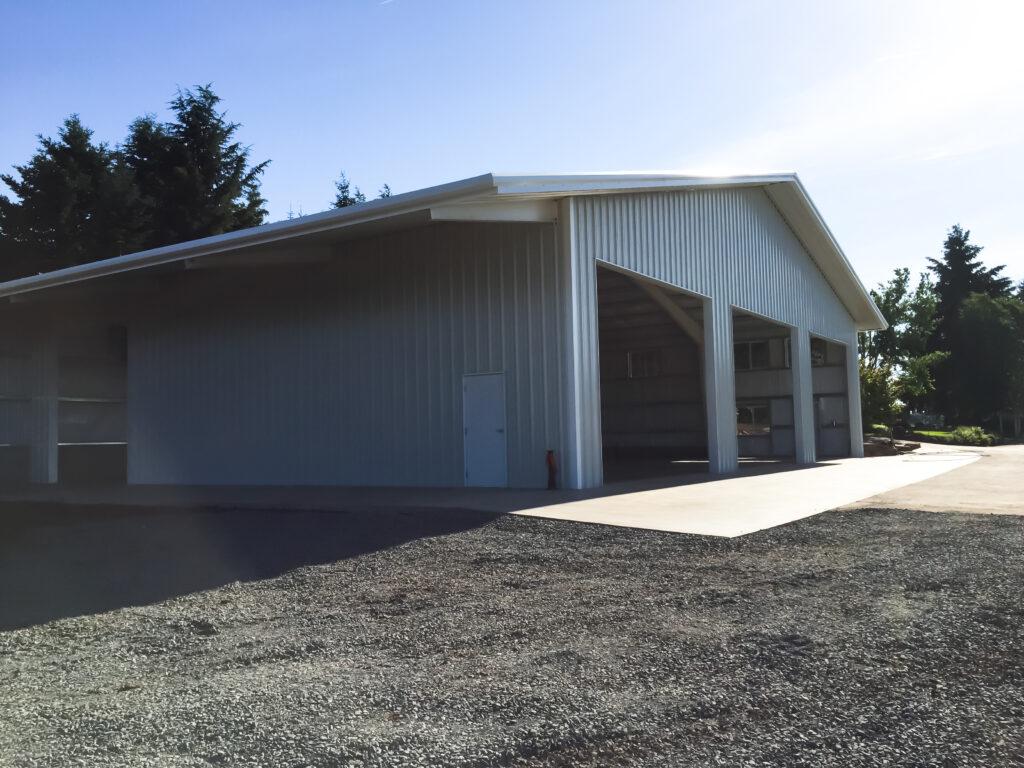Prefabricated Steel Shop - Silverton, Oregon