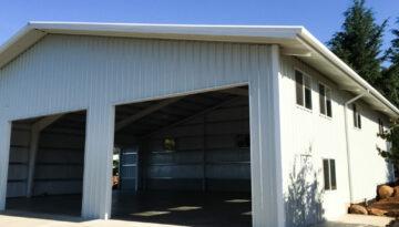 Prefabricated Steel Shop in Silverton, Oregon