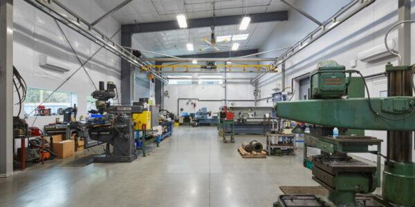 Pre-engineered fabrication shop