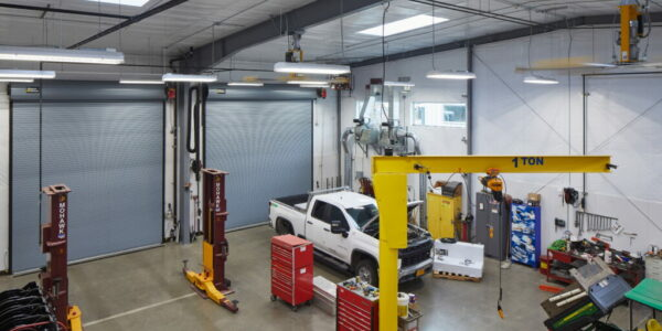 Pre-Engineered Steel Vehicle Maintenance Shop