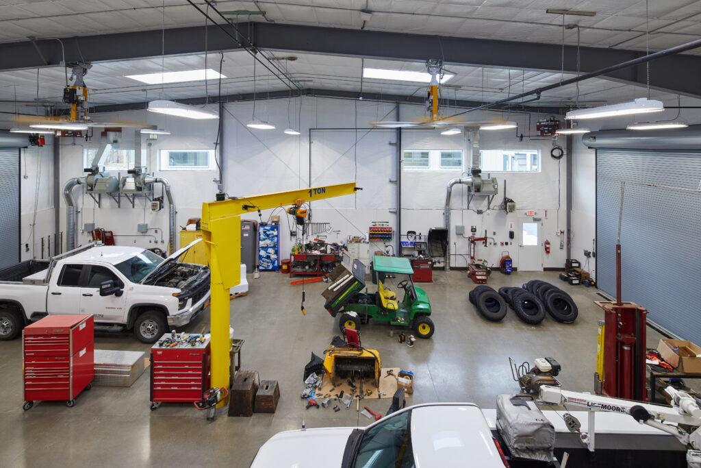 Vehicle Maintenance Shop