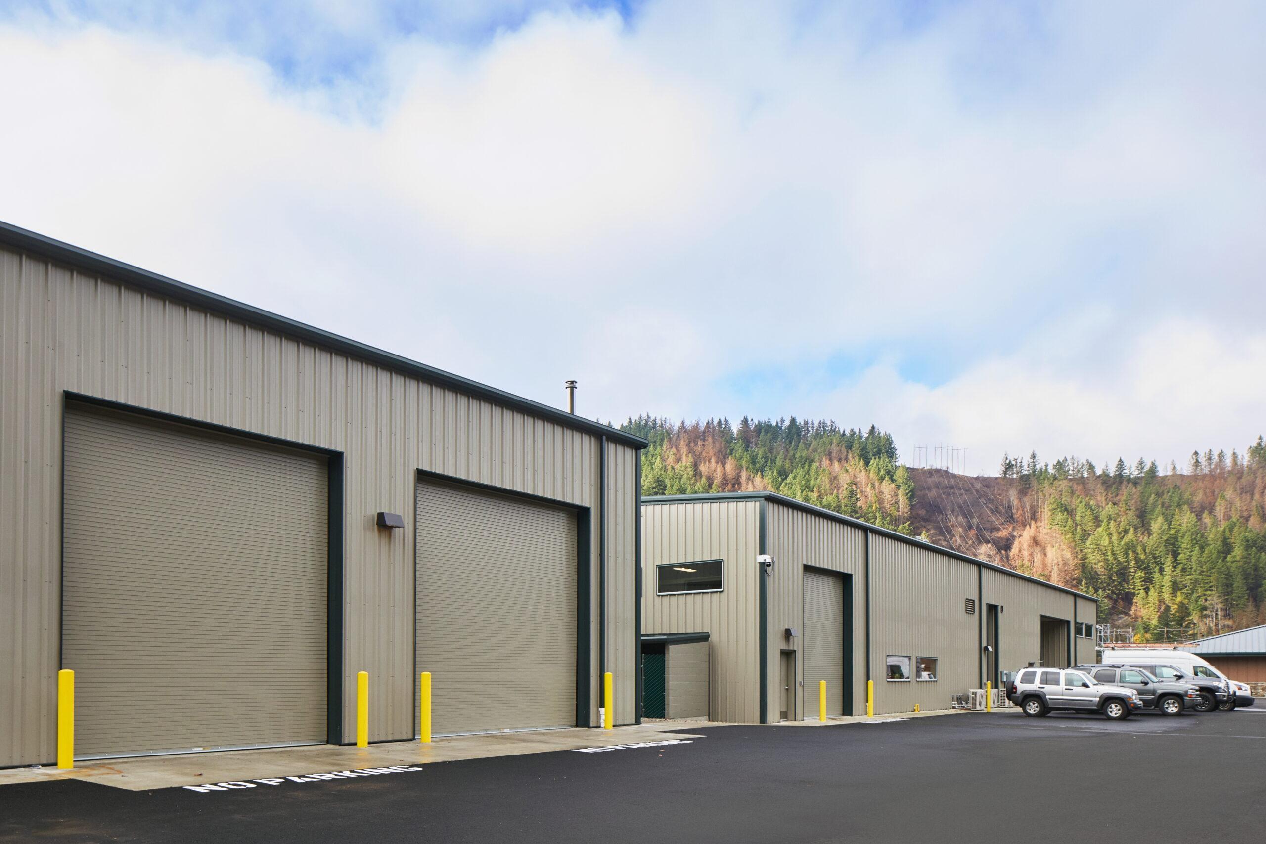 PGE Fabrication Shop in Estacada, Oregon