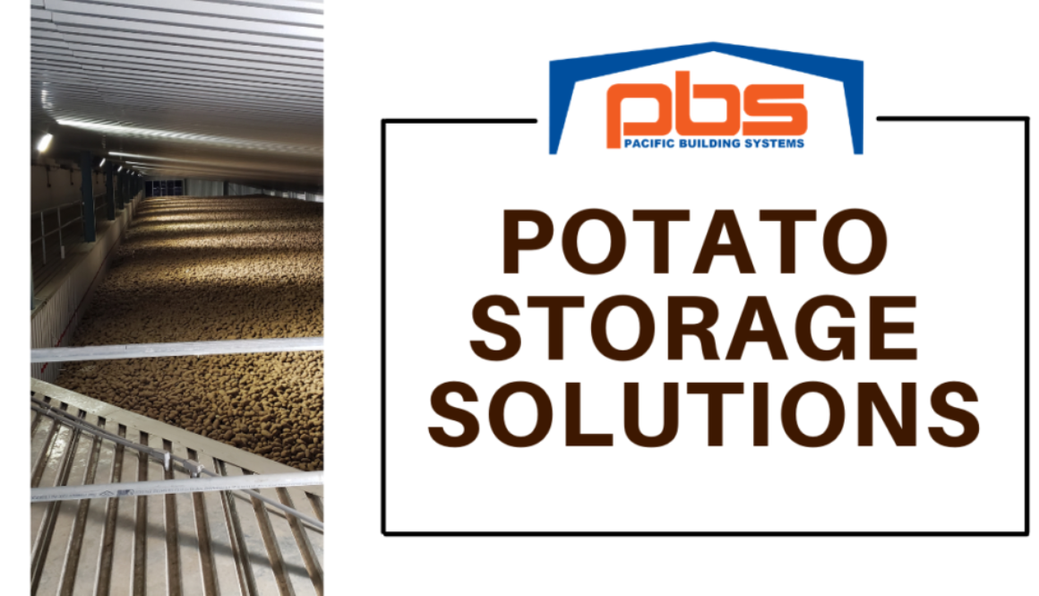 Why Steel Buildings Are Best For Potato Storage