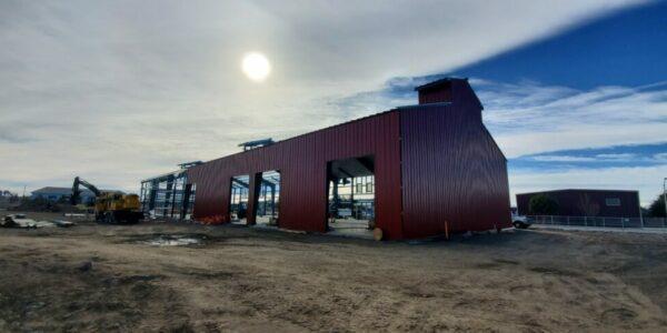 Red Barn in Redmond, OR