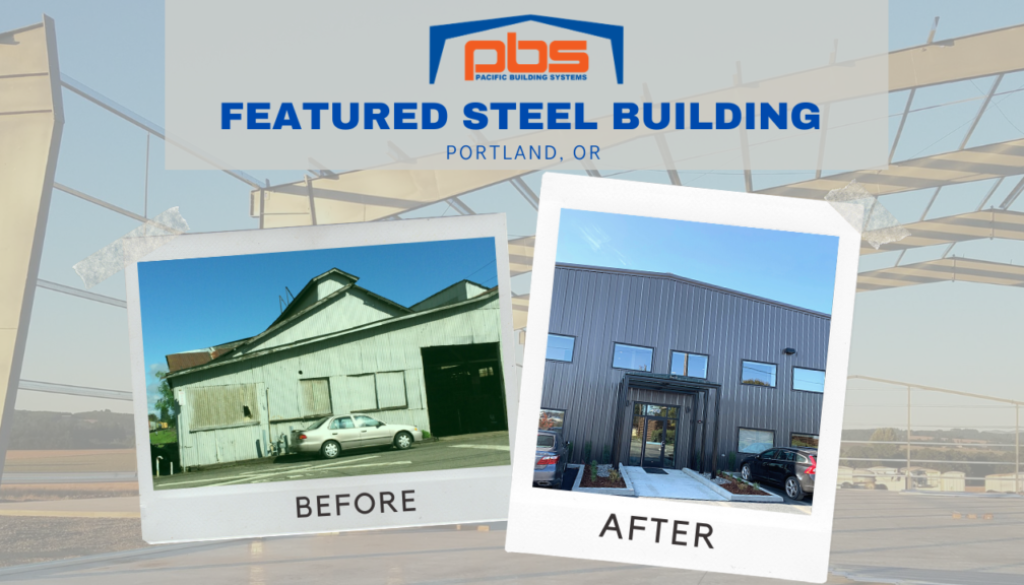 Harmer Steel Products Featured Steel Building Project