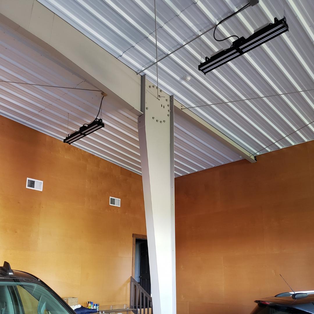 Steffen Systems Steel Building Interior Photo