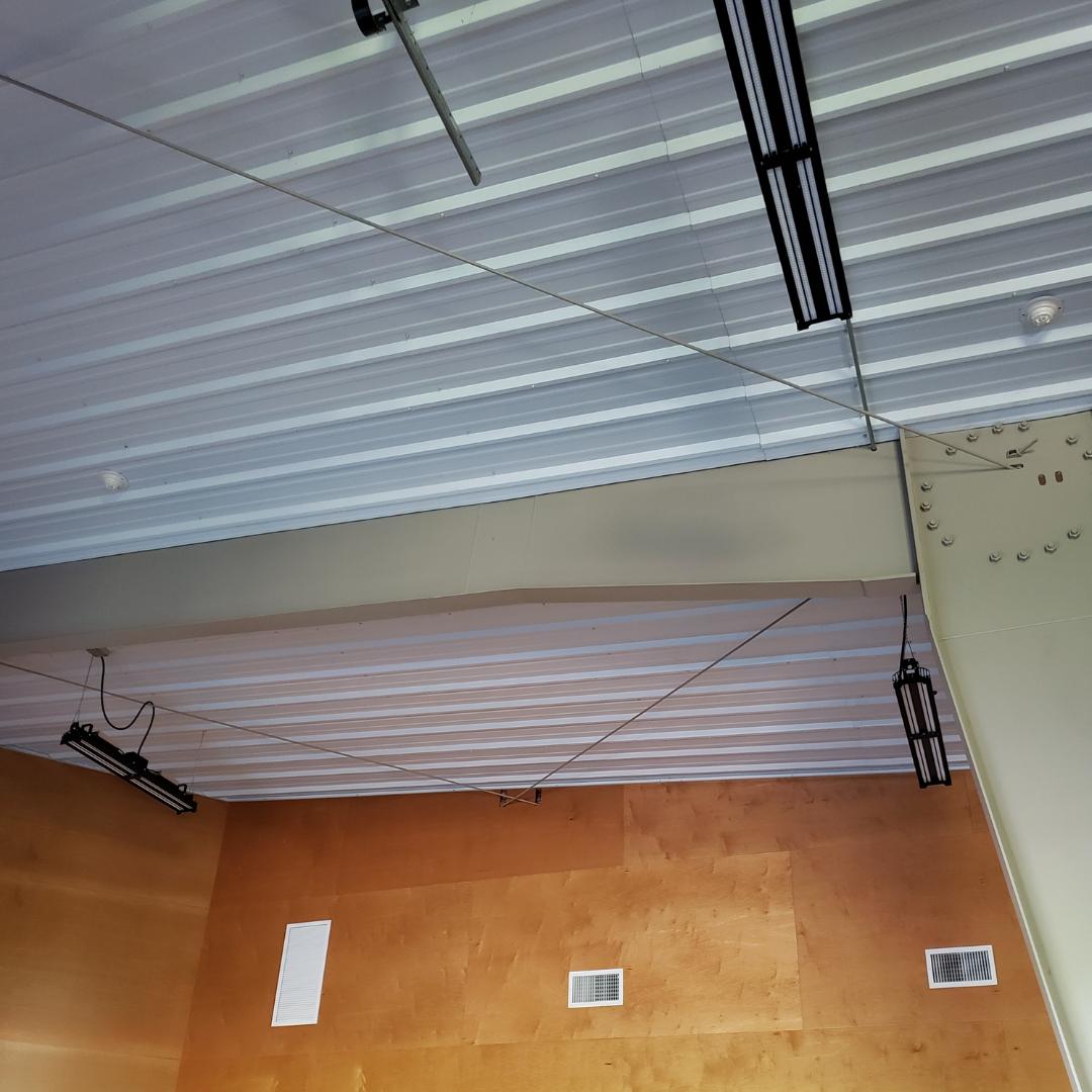 Steffen Systems Steel Building Interior