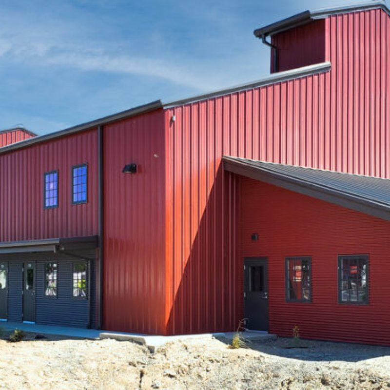 Commercial Metal Building Barn