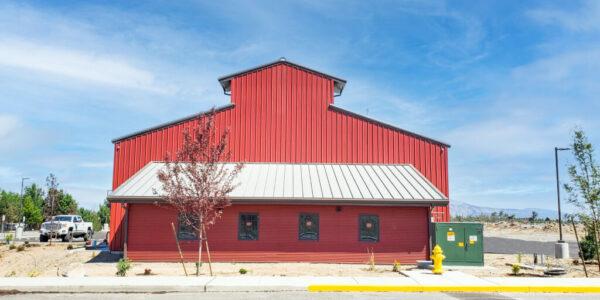 Metal Building Red Barn