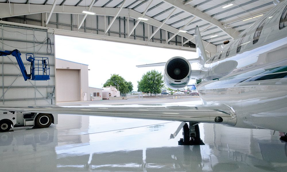 Airplane Pre Fabricated Hangar Building