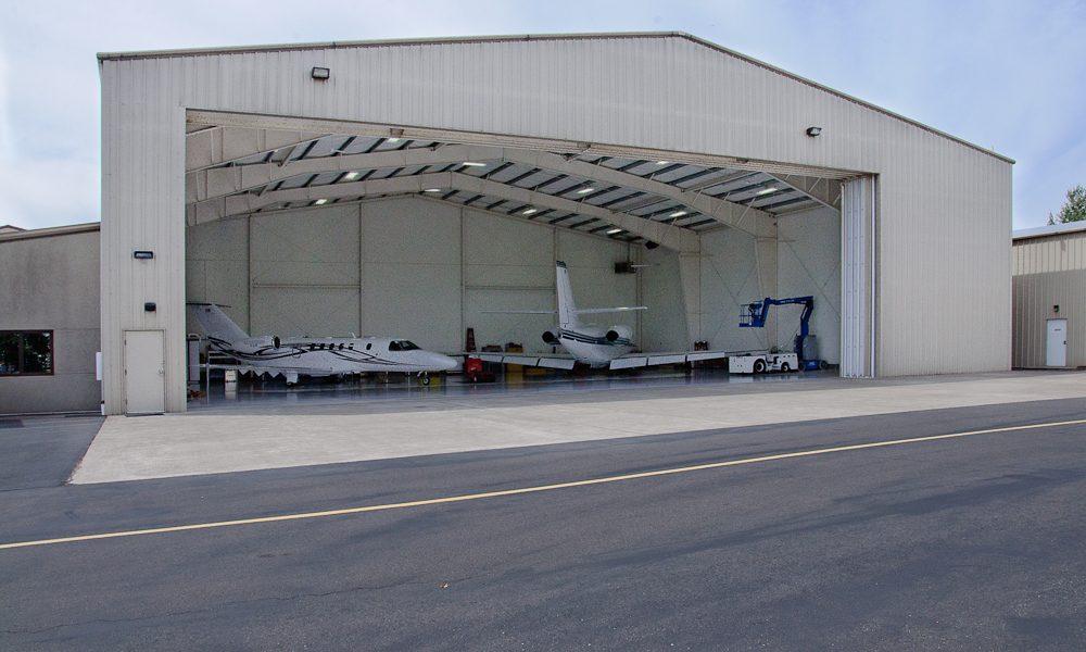 Metal Building Hangar in Bend Oregon