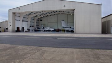 Sun River Steel Hangar