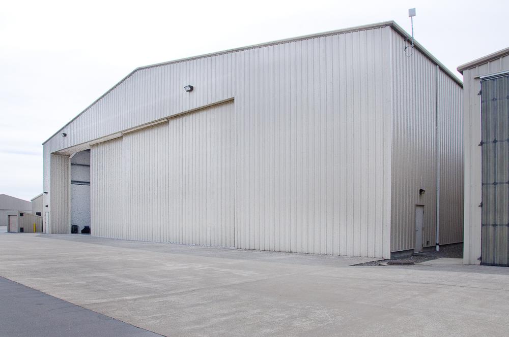 Steel Hangar in Bend Oregon