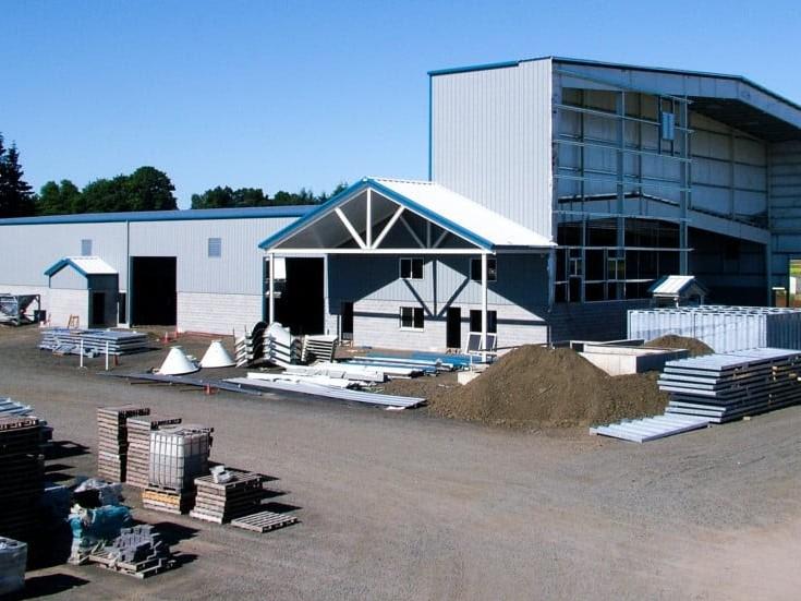 Western Interlock Steel Warehouse Space